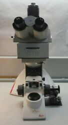 Leica Microsystems Dm2500m Microscopemissing Objectivesfor Parts And/or Repair
