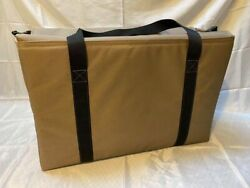 Padded Windsock Silhouette Silo Goose Custom Decoy Bag With Zippered Lid
