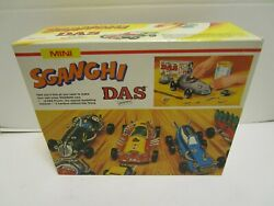 Vintage Sganghi Das Pronto Crazy Cars Kit Made In Italy And Unused