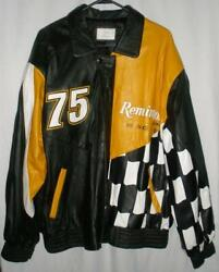 Butch Mock Racing 75 Remington Arms Team Issued Only Full Leather Jacket Large