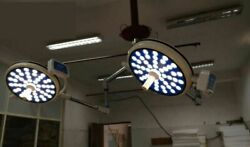 Double Satellite Ot Surgery Led Light Dual Color Operation Theater Light Or Lamp