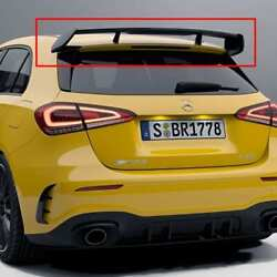 Genuine Mercedes-benz Amg Rear Wing Black Roof Spoiler A-class W177