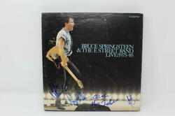 E Street Band X5 Signed Autograph Live Recordings - Bruce Springsteen And039s Band