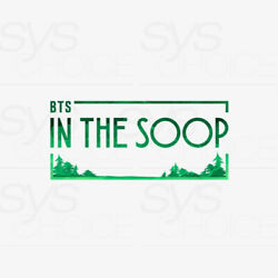 Bts Official Goods In The Soop Merchandise Md + Tracking Number