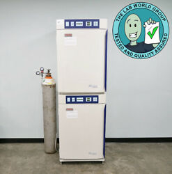 Thermo Napco 8000 Water Jacketed Co2 Dual Stacked Incubator W Warranty See Video