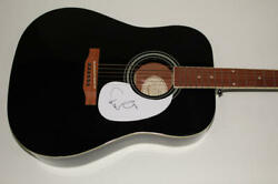 Elvis Costello Signed Autograph Gibson Epiphone Acoustic Guitar - Armed Forces