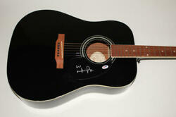 Wiz Khalifa Signed Autograph Gibson Epiphone Acoustic Guitar -rolling Papers Psa