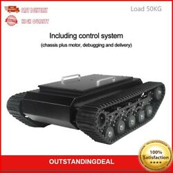 Tr500 Tracked Robot Chassis Tank Chassis Shock Absorption Load 50kg+control Kit