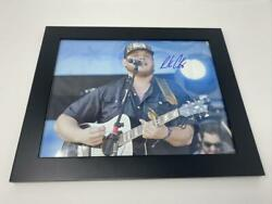 Luke Combs Signed Autograph 11x14 Photo Framed What You See What You Get B Acoa