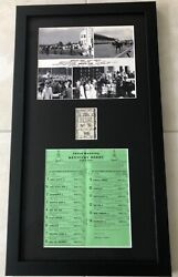 Seattle Slew 1977 Kentucky Derby Racing Program, Uncashed Tote, Official Photo
