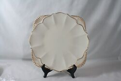 Discontinued Lenox China Hertiage Collection Square Chop Plate 12 1/2 Mint