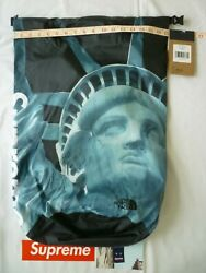 Supreme North Face Statue of Liberty Waterproof Backpack Black Brand New F W 19 $200.00