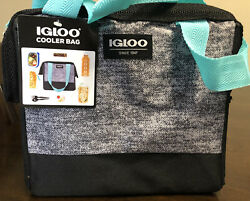 Igloo Cooler Bag Holds 9cans Zip Closure $19.99