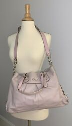 Light Pink Leather Coach Bag EXCELLENT CONDITION $40.00