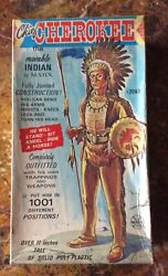 Vintage Marx Moveable Chief Cherokee Indian 2063 Action Figure Complete Set