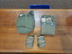 Rare Original Us Vietnam War First Aid Medical Kit With Contents And Mess Kit