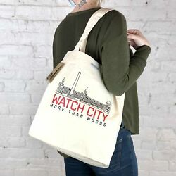 MTW Canvas Totes: Watch City Waltham MA $25.99