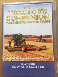 The Tractors Companion Machinery On The Farm Vol. 1 2003 Dvd Sow And Scatter