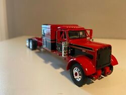 Red And Black Dcp 1/64 Peterbilt 379 63 Flat Top 6 1/2long Parts Truck