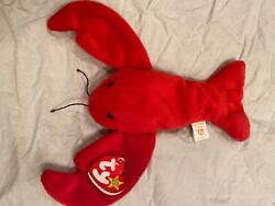 Pinchers Beanie Baby, 1993, Pvc, Mint Condition