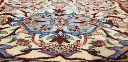 Exquisite Antique 1930-1940and039s Wool Pile Naturel Dye Signed Hereke Rug 6and0396andtimes9and0397