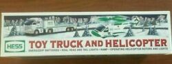 Hess Toy Truck And Helicopter 2006 Holiday Set