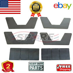 Both Front Wheel Bearings And Hub For 2006 - 2008 Dodge Ram 1500 W/abs 2wd 4wd