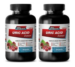 Weight Loss Supplements - Uric Acid Formula Natural Extracts 2b - Kidney Suppor