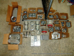Bulk Lot Of Electrical Contractor Surplus Supplies Wholesale Lot Free Shipping