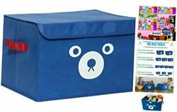 Storage Bin for Toy Storage Collapsible Chest Box Toys Organizer with Lid for