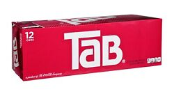 Tab Cola Soda Pop 12oz Cans - New, Unopened, Box In Hand