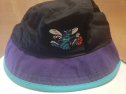 Charlotte Hornets NBA New Era Black Bucket Hat Cap Size XL $13.50