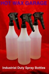 Empty Trigger Spray Bottle 32 Oz Chemical Resistant Heavy Duty Commercial