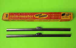 1930's 1940's Anco 12 Nors Wiper Blades Ford Chevrolet Plymouth Chrysler Dodge