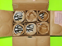 1934 35 36 1937 1938 1939 1940 1941 Nors Plymouth Pistons Six 3 1/8 .040 O/s