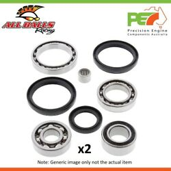 All Balls Front Rear Diff Bearing Seal Kit For Polaris 300 4x4 2008-10