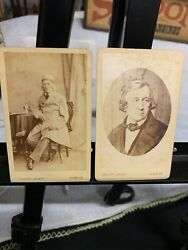 Vintage Rare The Brothers Grimm Fairy Tales Original Cabinet Card Photos