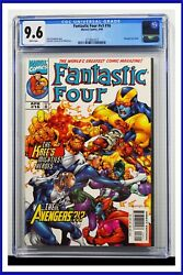 Fantastic Four V3 16 Cgc Graded 9.6 Marvel April 1999 White Pages Comic Book