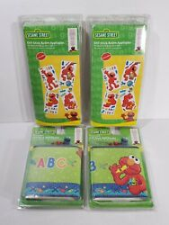 Sesame Street Peel amp; Stick Wall Decals and Wall Boarder ELMO ABC 123 Removable