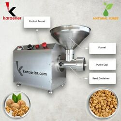 Raisin - Ground Nut Mix Butter Or Puree Machine / Ce-iso / Home Use - Commercial