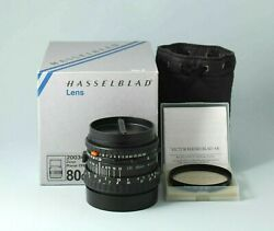 Lens Hasselblad Zeiss Planar 28/80 Cfe And Filter Hasselblad 60 Uv-sky