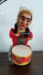 Collectables  Toys  Antiques  Indian Drummer Old-fashioned