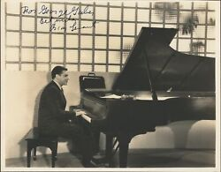 Oscar Levant 1904–1972 Signed Photograph Pianist Piano Gershwin