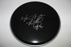 Charlie Watts Signed Autograph 10 Drumhead Rolling Stones Drummer Rare W/ Acoa