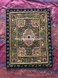 Wall Hanging Panel Hand Crafted Embroidery Traditional Design Gift Decor M105