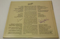 Arlo Guthrie Pete Seeger Signed Autograph Album Record Together In Concert Jsa