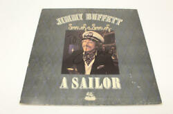 Jimmy Buffett Signed Autograph Album Vinyl Record Son Of A Son Of A Sailor Real
