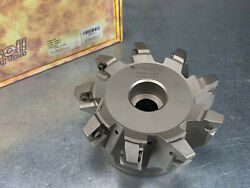Ingersoll 5 Hi-feed Face Mill Indexable Gold Quad Milling Cutter 5g5m-50r01