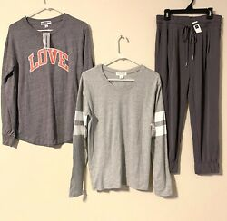 Women's Set Of 3 All New With Tags Nordstrom And Gap $18.00