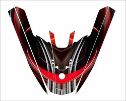 Kawasaki 650 Sx Jet Ski Wrap Graphic Pwc Stand Up Jetski Decal Kit Racing Red
